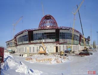 AIRPORT ASTANA INTERNATIONAL AIRPORT ASTANA / KAZAKHSTAN