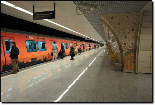 METRO ISTANBUL METRO 4 th LEVENT – AYAZAGA E & M WORKS  ISTANBUL / TURKEY  (COMPLETED)
