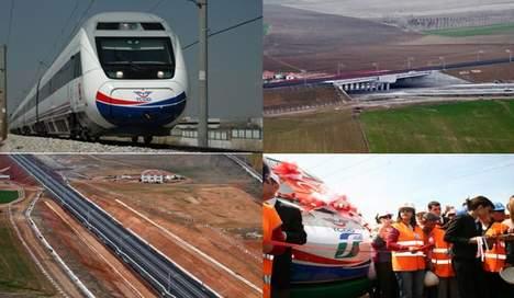 RAILWAY  ANKARA – ISTANBUL FAST TRAIN PROJECT TURKEY