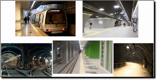 METRO ISTANBUL METRO KABATAS – MECIDIYEKOY – MAHMUTBEY RAIL SYSTEM LINE ISTANBUL / TURKEY  (UNDER CONSTRUCTION)