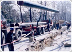 NATURAL GAS DISTRIBUTION NETWORK ISTANBUL CITY ISTANBUL / TURKEY