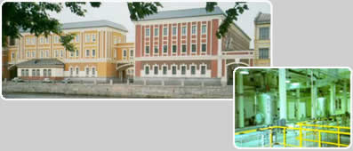 WATER TREATMENT PLANT GOZNAK BANKNOTE PAPER MILL ST. PETERSBURG / RUSSIA