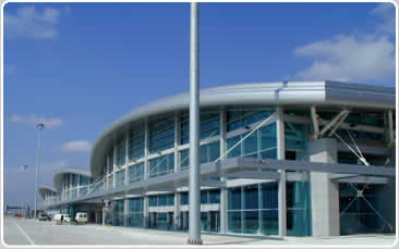 AIRPORT TERMINAL BUILDINGS SABIHA GOKCEN INTERNATIONAL AIRPORT ISTANBUL / TURKEY