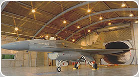 NATO AIRPORT PROJECTS F-16 HUSH-HOUSE FACILITIES & AVIONICS BUILDINGS TURKEY